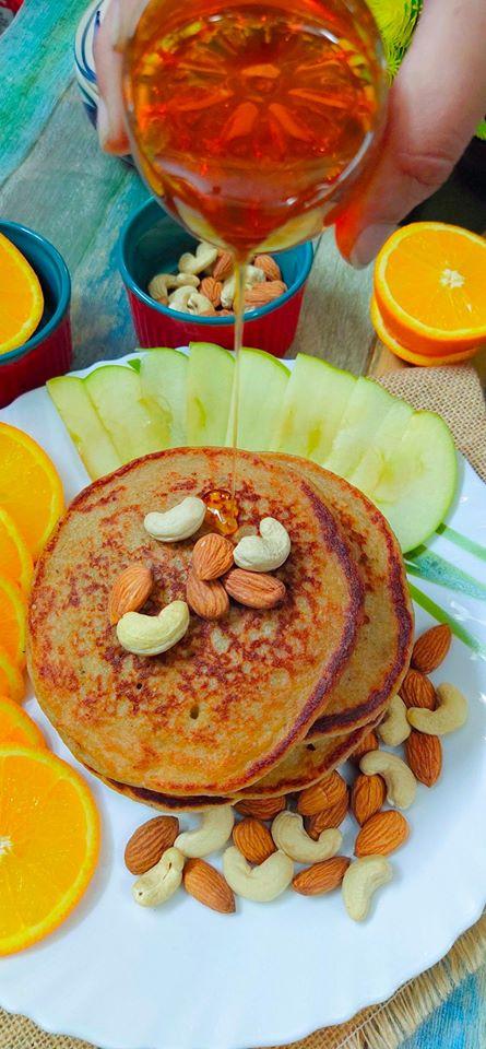 Oats Banana Pancake