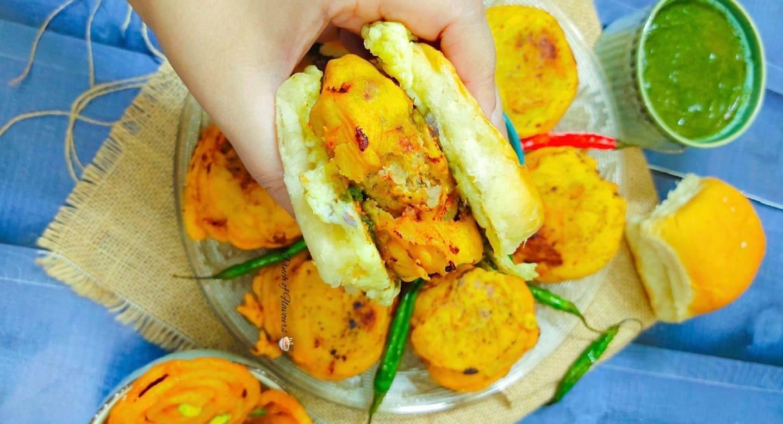 Chicken Vada Pav - Chicken Recipes