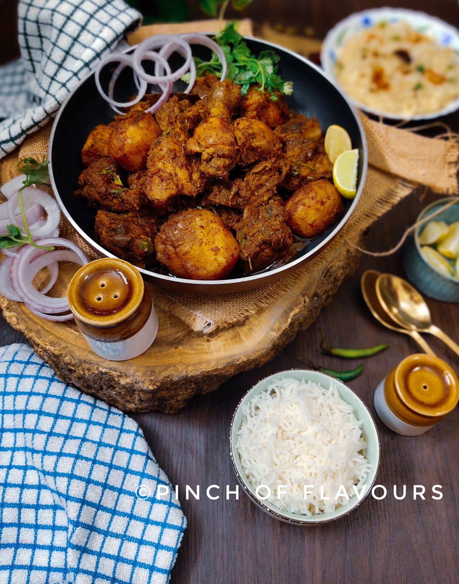 Bengali bhuna chicken masala