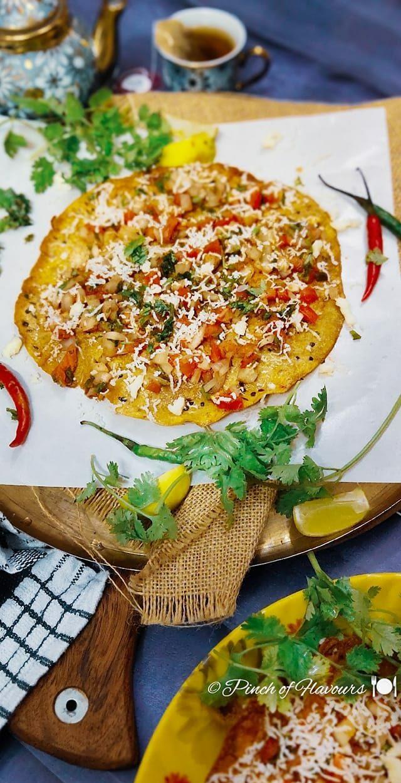Masala Cheese Papad