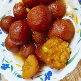Gulab Jamun With Milk Powder Recipe