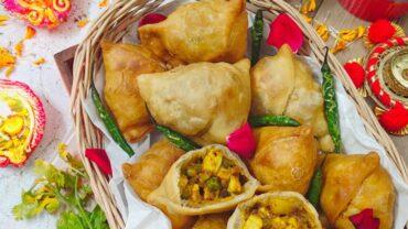 Tandoori Paneer samosa (Best Samosa Recipe)