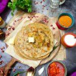 Mooli Capsicum Paratha- Radish Bell peppers Paratha