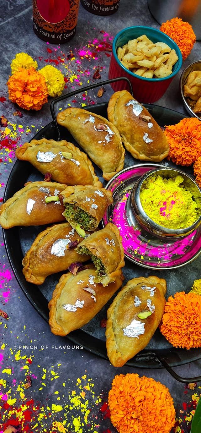 Best Paan Gujiya Recipe   Step by Step Gujiya – Air Fryer   Gujiya.