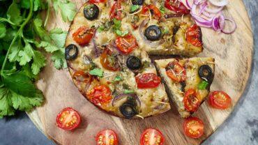 Foccacia Recipe (Whole Wheat) – Tomato & Olive