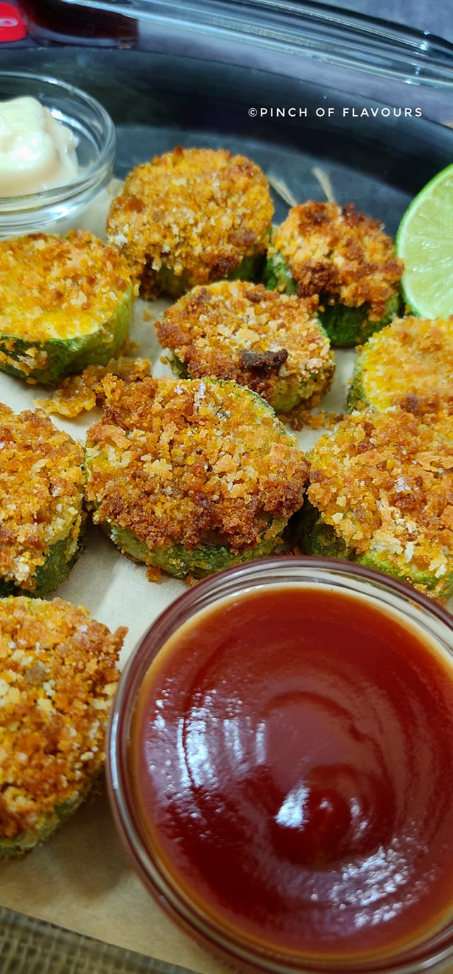 Cucumber Fritters Air Fry