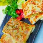 Vegetable Cheese Crepes