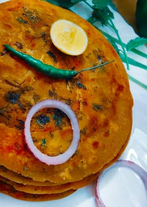 Masala Paratha - Healthy Flatbread