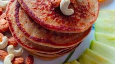 Oats Banana Pancakes   Home Made Pancakes   Oats For Breakfast