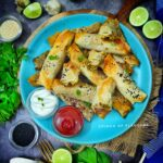 Turkish Air Fried Borek   Vegan spinach and cheese rolls   Vegan snacks