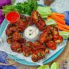 Air-Fryer Asian BBQ Cauliflower Wings – Vegan Air Fryer Recipes
