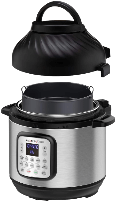 Instant Pot Duo Crisp 11 in 1, Electric Pressure Cooker with Air Fryer