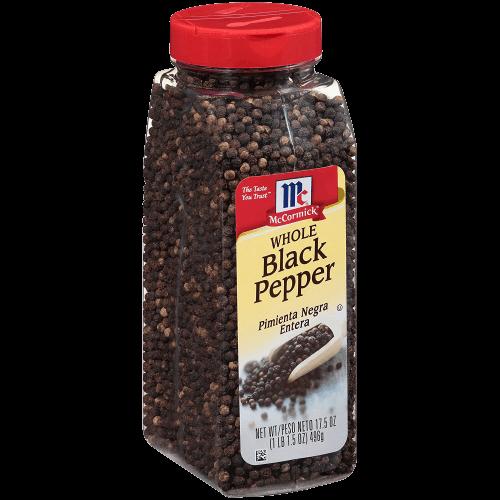 McCormick Whole Black Pepper